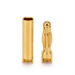 4.0mm gold plated connector