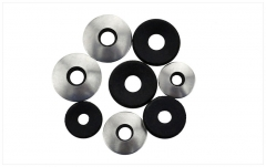 M4.2-M6.3 304 Stainless Steel EPDM Anti Slip Plain Washer